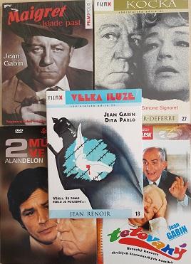 Kolekce Jean Gabin 5 DVD
