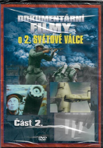 Dokumentární filmy o 2. světové válce. Část 2. ( plast ) - DVD
