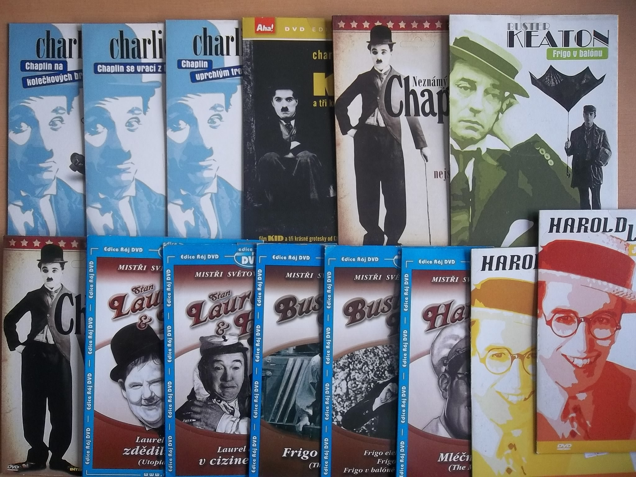 Velká kolekce grotesky 14 DVD