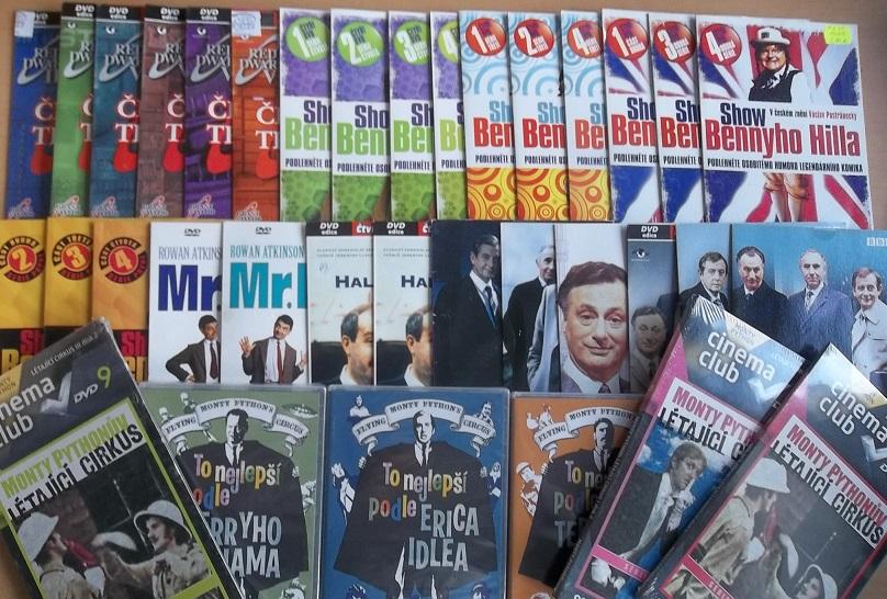 Velká kolekce Britský humor 36 DVD