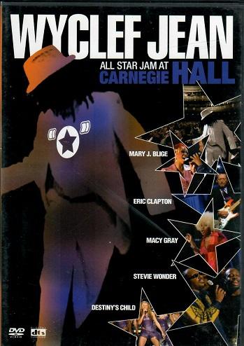 Wyclef Jean - ALL star jam at Carnegie Hall - DVD