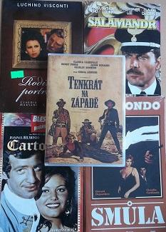 Kolekce Claudia Cardinale - 5 DVD