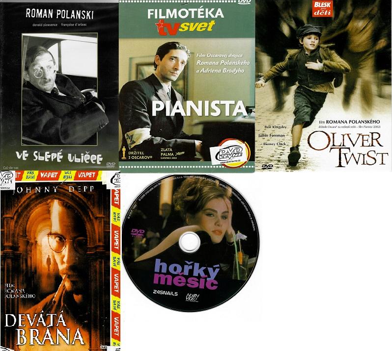 Kolekce Roman Polanski - 5 DVD