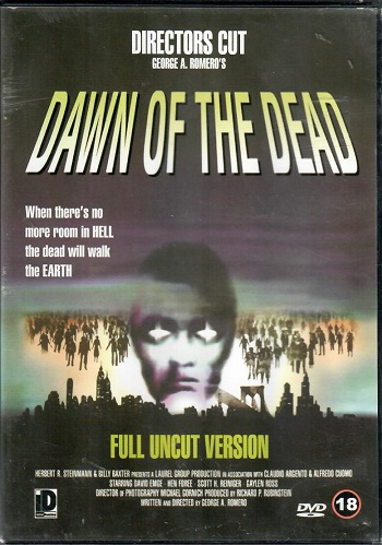 Dawn of the Dead / Úsvit mrtvých  - DVD plast