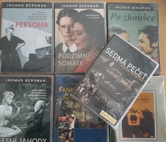 Kolekce Ingmar Bergman 8 DVD plast