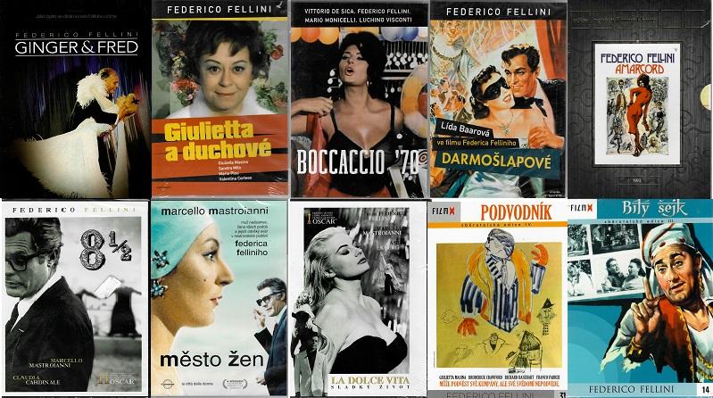 Kolekce Federico Fellini 10 DVD