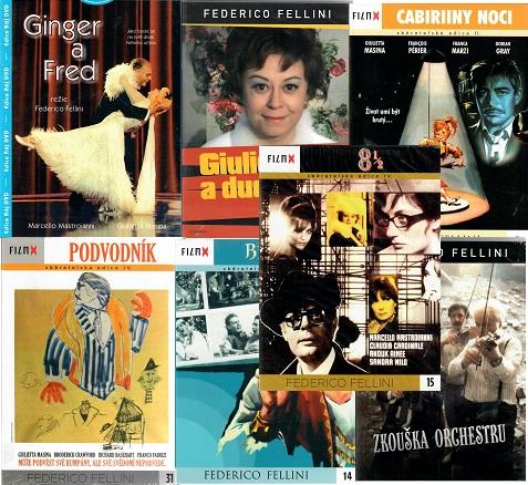 Kolekce Federico Fellini 7 DVD