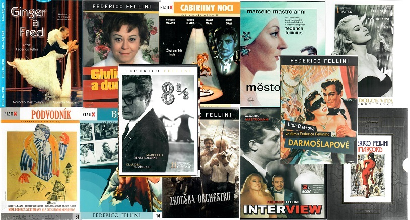 Kolekce Federico Fellini 12 DVD