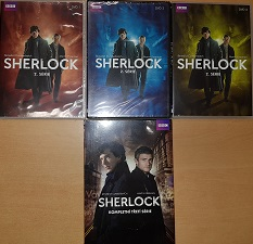 Kolekce Sherlock Holmes - 6 DVD