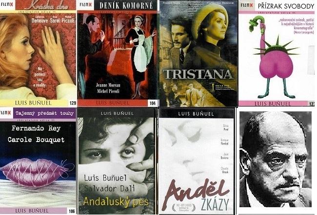 Kolekce Luis Bunuel 7 DVD /4xdigipack,3xplast/