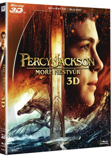 Percy Jackson: Moře nestvůr - Blu-ray