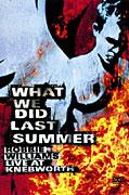 What we did last summer -Robbie Williams)- DVD plast