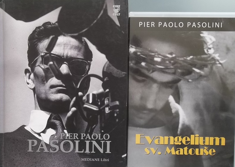 Kolekce Pier Paolo Pasolini ( 1x kniha + 2x DVD )