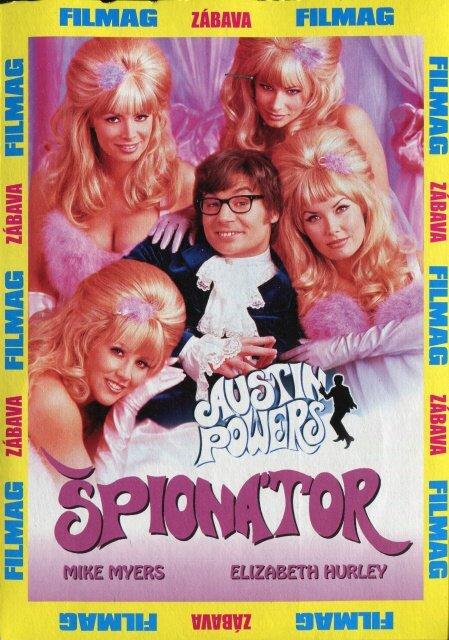 Austin Powers: Špionátor - DVD