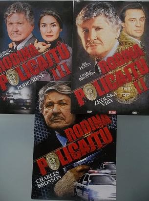 Kolekce Rodina policajtů - 3 DVD
