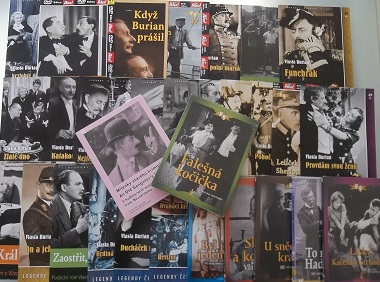 Velká kolekce Vlasta Burian - 32 DVD