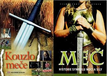2x DVD Kouzlo meče + Meč - papírová pošetka