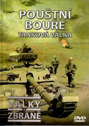 Války a zbraně 15 - Pouštní bouře, tanková válka ( DVD + brožurka ) - DVD