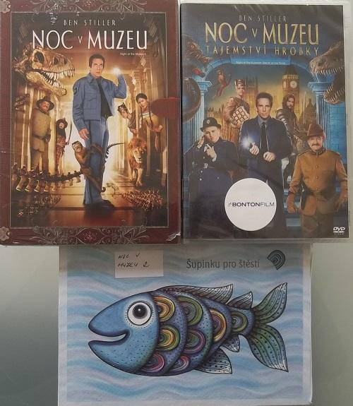 Kolekce Noc v muzeu - 3 DVD
