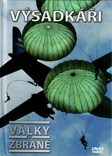 Války a zbraně 5 - Výsadkáři ( DVD + brožurka ) - DVD