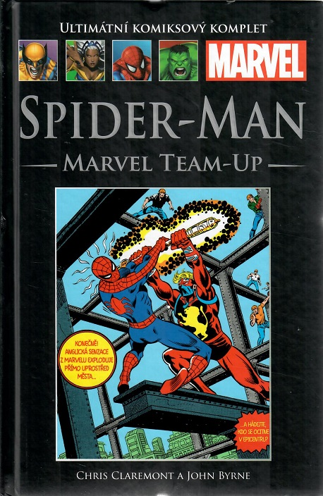 Ultimátní komiksový komplet -SPIDER-MAN: MARVEL TEAM-UP - hřbet č. 118