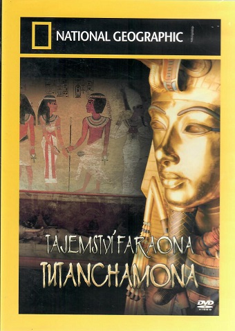 Tajemství faraona Tutanchamona - plast DVD