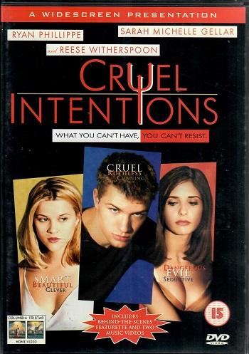 Cruel intentions / Velmi nebezpečné známosti ( originální znění s CZ titulky ) - plast DVD