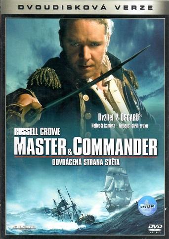Master & Commander: Odvrácená strana světa - 2 DVD