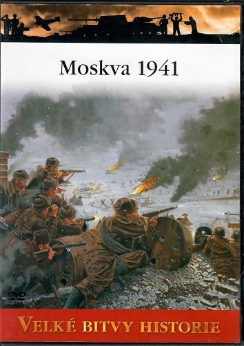 Velké bitvy historie 49 - Moskva 1941 - slim DVD
