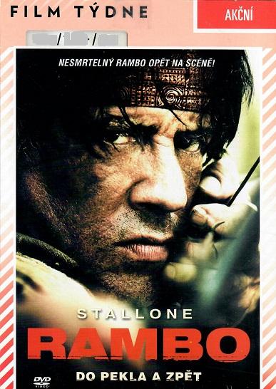 Rambo - do pekla a zpět ( pošetka ) - DVD