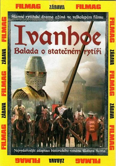 Ivanhoe: Balada o statečném rytíři - pošetka DVD