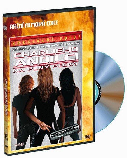 Charlieho andílci na plný pecky - DVD