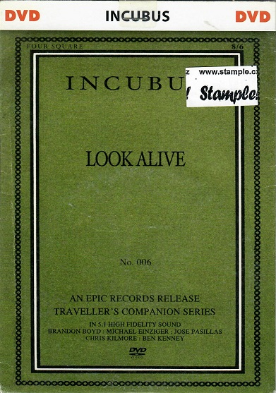 Incubus - Look alive - DVD
