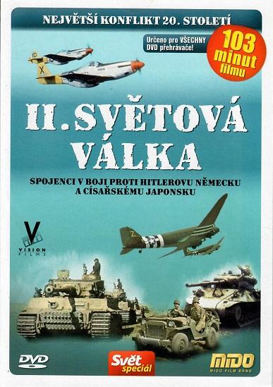 II. Světová válka - pošetka DVD