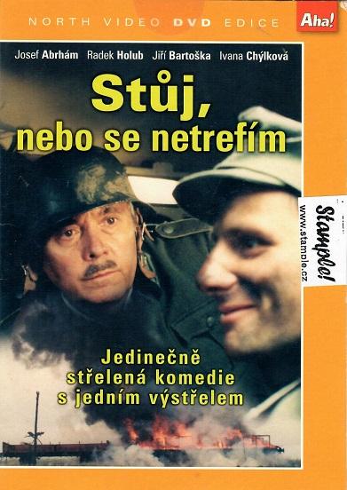 Stůj, nebo se netrefím! - DVD pošetka
