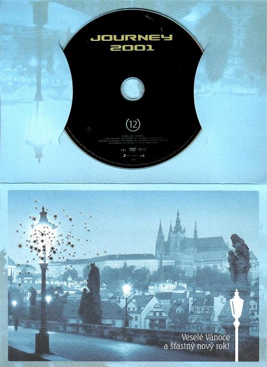 Journey 2001 ( dárkový papír obal ) - DVD