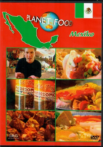 Planet Food Mexiko - slim DVD