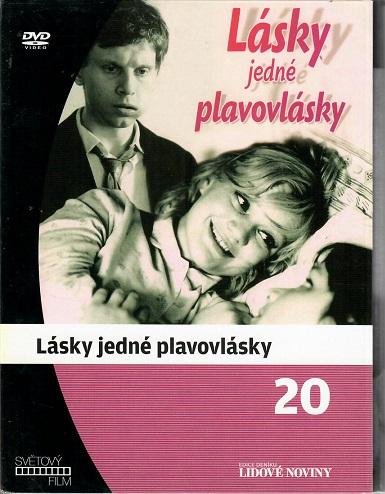 Lásky jedné plavovlásky ( digipack ) - DVD