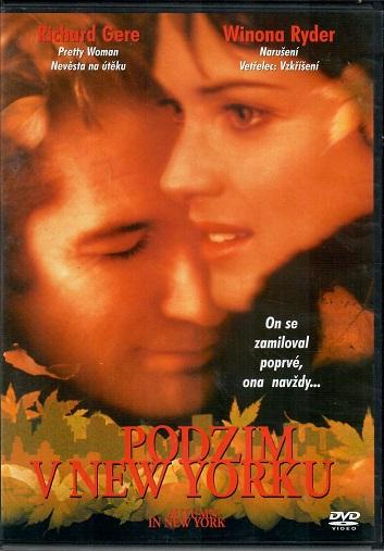 Podzim v New Yorku ( originální znění s CZ titulky ) - Slim DVDy ) -  DVD plast