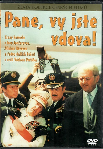 Pane, vy jste vdova! - DVD plast/ slim