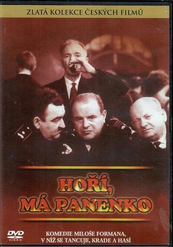 Hoří, má panenko ( plast ) - DVD