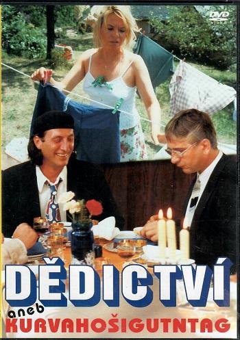 Dědictví aneb Kurvahošigutntag (Plast ) - DVD