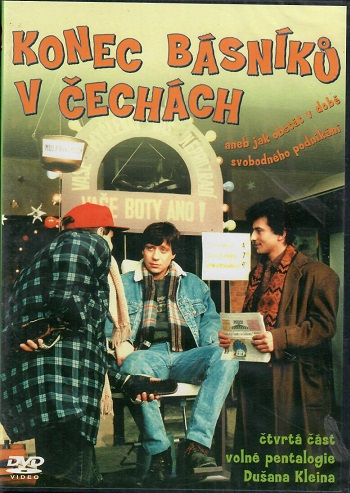 Konec básníků v Čechách ( slim ) - DVD