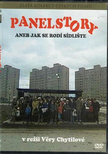 Panelstory aneb Jak se rodí sídliště ( slim /plast) - DVD