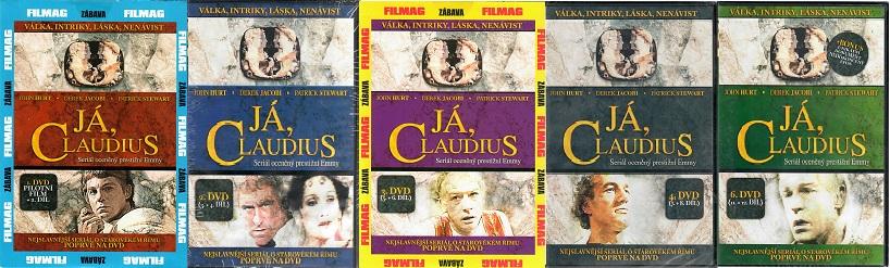 Kolekce Já, Claudius 5DVD ( nekompletní )