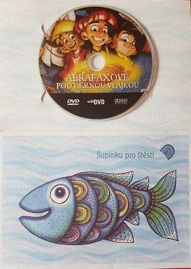 Abrafaxové: Pod černou vlajkou(dárkový obal)-DVD