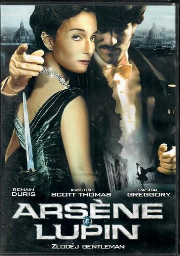 Arséne Lupin - Zloděj gentleman ( plast ) - DVD