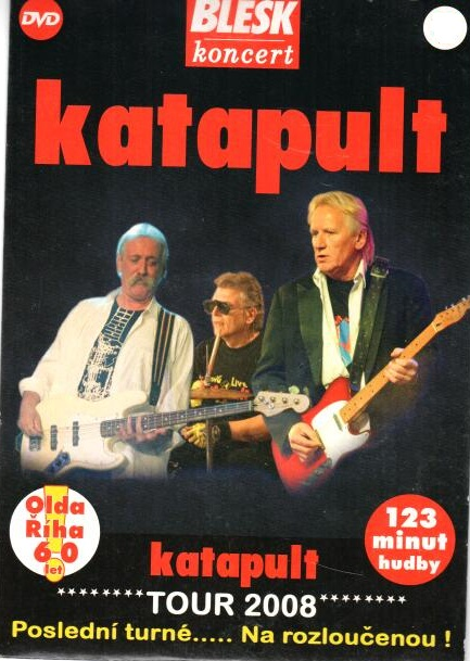 Katapult - Tour 2008 - DVD pošetka