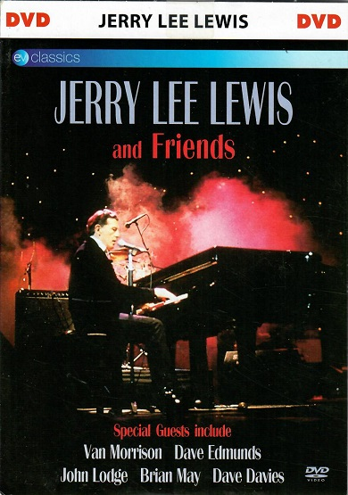 Jerry Lee Lewis and friends ( pošetka ) - DVD