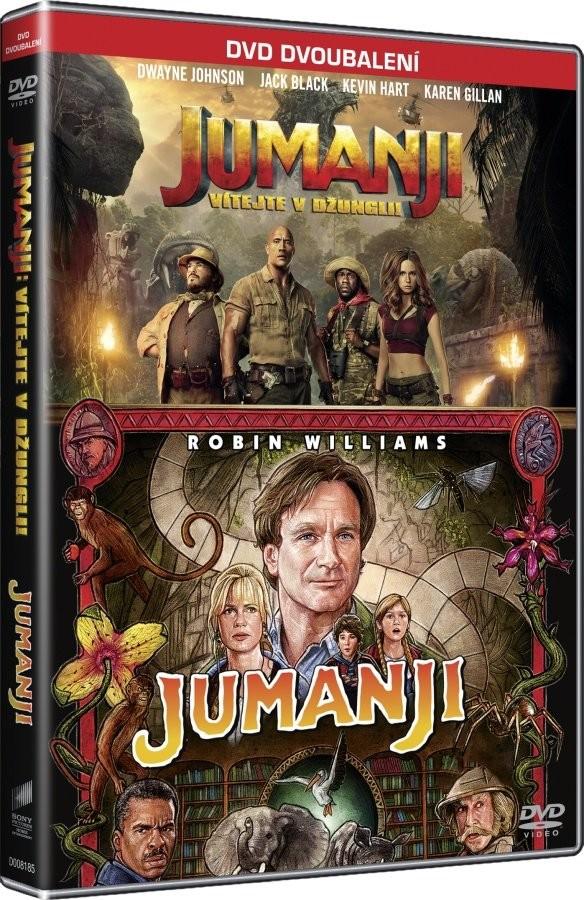 Jumanji kolekce - DVD plast